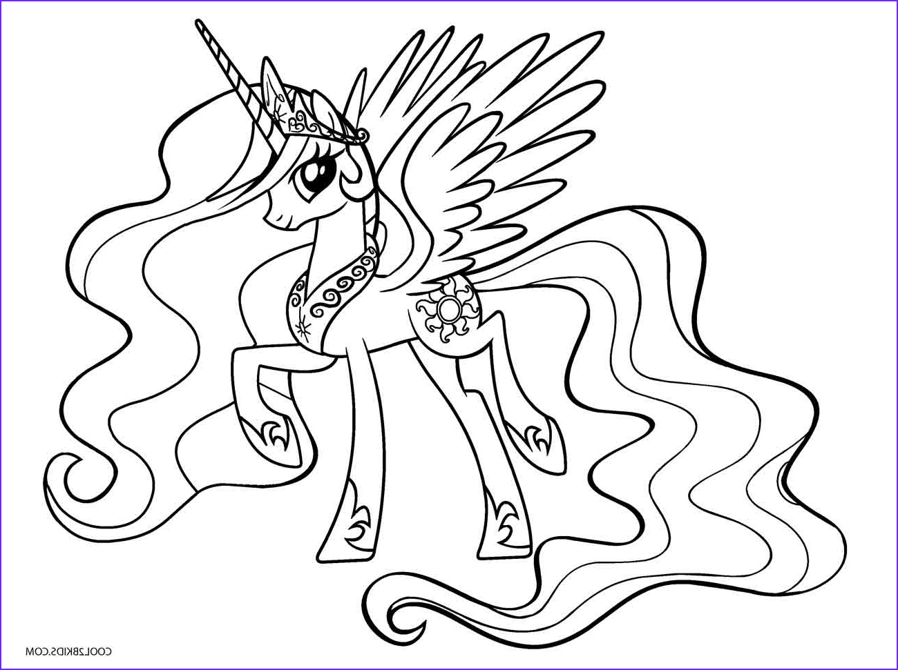 Pony Coloring Beautiful Stock Free Printable My Little Pony Coloring Pages for Kids