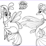 Pony Coloring Cool Collection Printable My Little Pony The Movie 2017 Coloring Pages