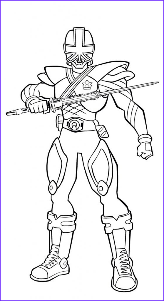Power Ranger Coloring Awesome Image Printable Power Rangers Samurai Picture to Color