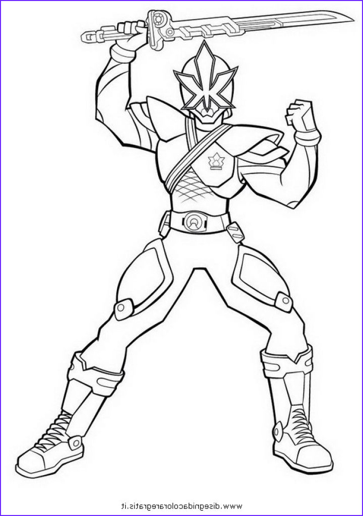 Power Ranger Coloring New Gallery Free Power Rangers Samurai Superheroes Coloring Page for