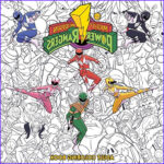 Power Rangers Coloring Book Awesome Collection Mighty Morphin Power Rangers Tv Show News Videos Full