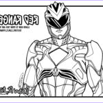 Power Rangers Coloring Book Cool Image Red Ranger Power Rangers [2017] Movie