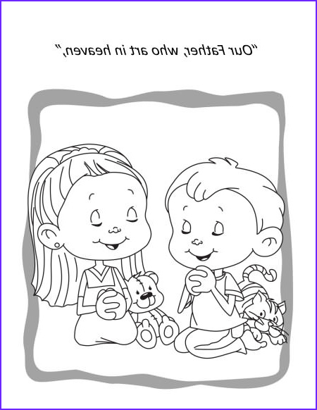 the lords prayer coloring and activity book