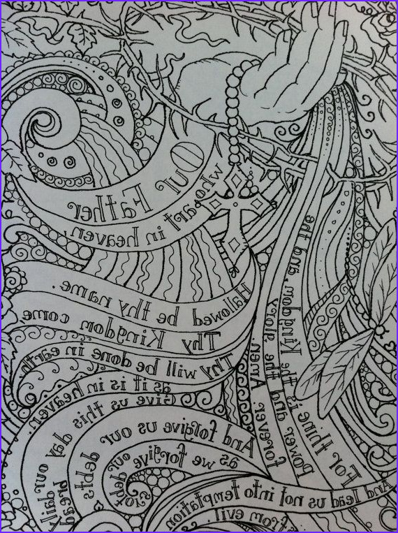 Prayer Coloring Pages Cool Images 17 Best Images About Lord S Prayer On Pinterest