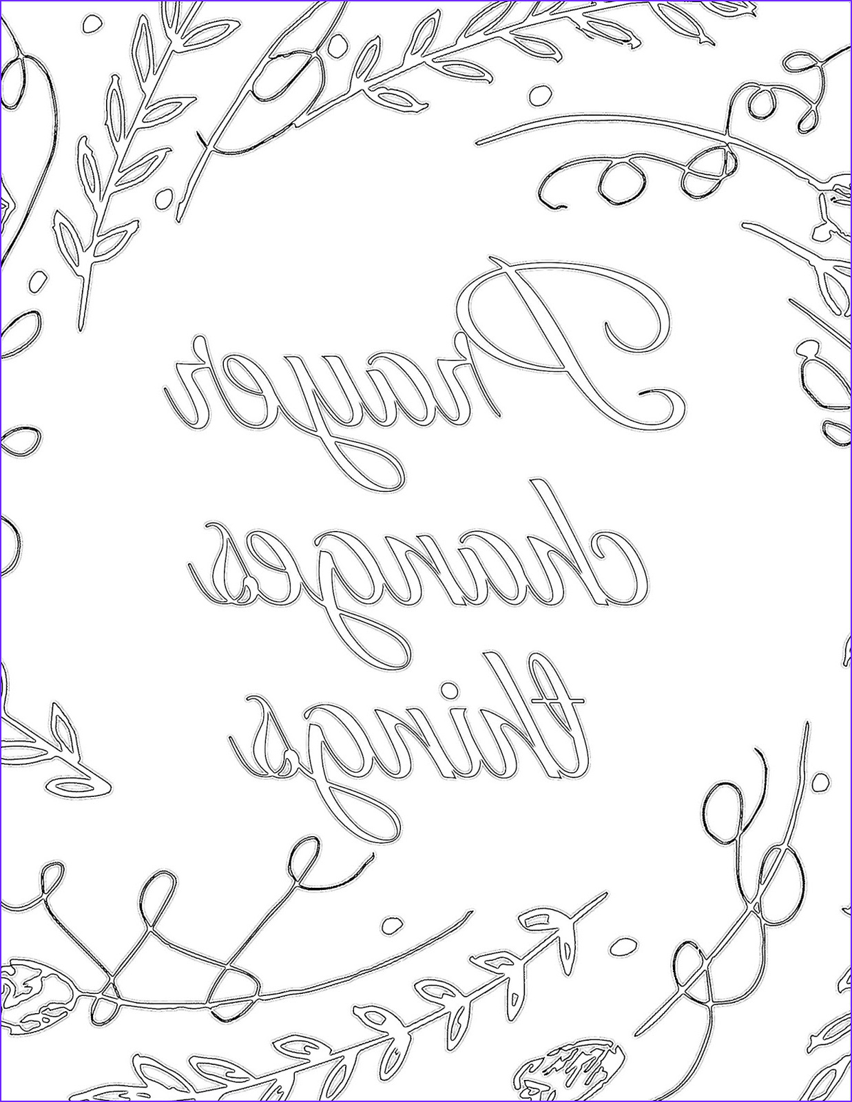 Prayer Coloring Pages Unique Gallery the Prudent Pantry Prayer Changes Things Printable