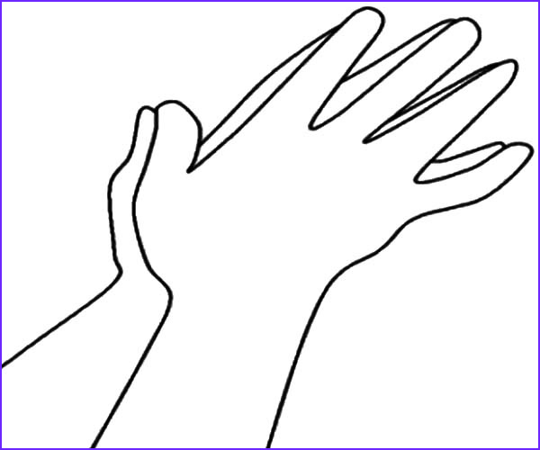 Praying Hands Coloring Page Beautiful Images Praying Hands Coloring Sheet Clipart Best