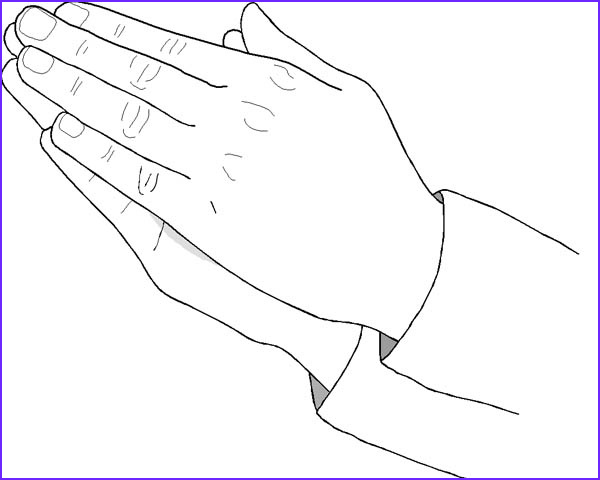 Praying Hands Coloring Page Cool Photos Praying Hand Coloring Page Coloring Sky