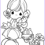 Precious Moment Coloring Book Beautiful Collection Kids N Fun