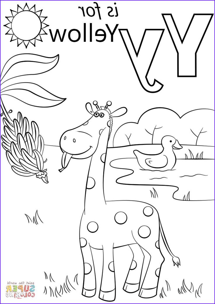 Preschool Coloring Activity Inspirational Photos Letter Y is for Yellow Coloring Page