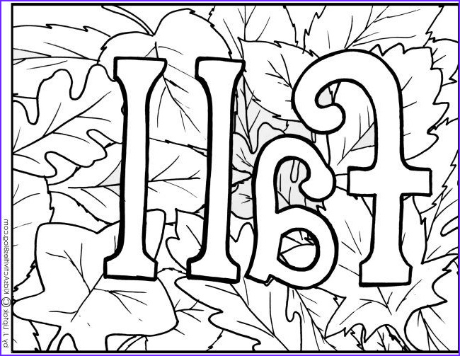 Preschool Fall Coloring Pages Inspirational Images Free Printable Fall Coloring Pages Preschool
