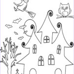 Preschool Halloween Coloring Pages Awesome Image Free Halloween Printables