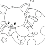 Preschool Halloween Coloring Pages Best Of Collection Download These Free Halloween Bat Coloring Pages For Kids