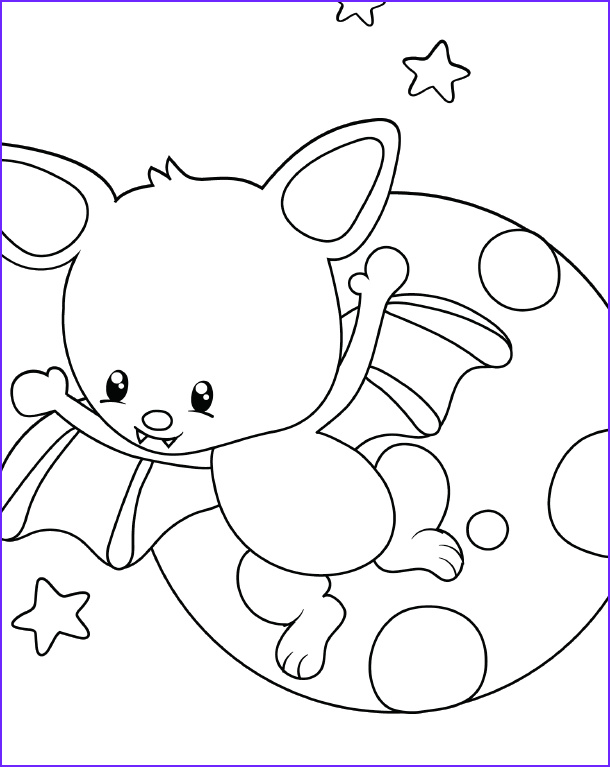 free halloween bat coloring pages for kids