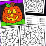 Preschool Halloween Coloring Pages New Photography Halloween Color By Number
