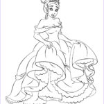 Princess Coloring Pages Printable Awesome Images Disney Princess Tiana Coloring Pages To Girls