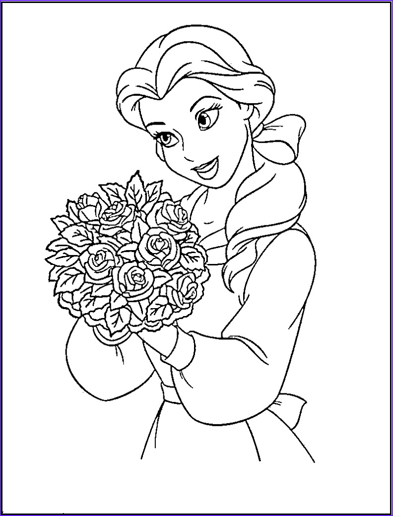 princess coloring pages 1 2