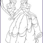 Princesses Coloring Books Beautiful Photography Disney Princess Belle Coloring Pages