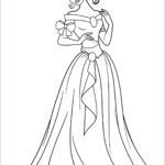 Princesses Coloring Books New Collection Beautiful Princess Coloring Page