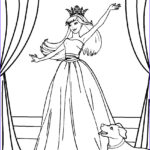 Princesses Coloring Pages Beautiful Images Printable Barbie Princess Coloring Pages For Kids