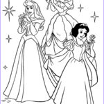 Princesses Coloring Pages New Image Disney Princesses Best Coloring Pages