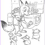 Print Coloring Book Best Of Photos Zootopia Coloring Pages