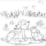 Print Out Coloring Pages Inspirational Photos Free Printable Bambi Coloring Pages For Kids