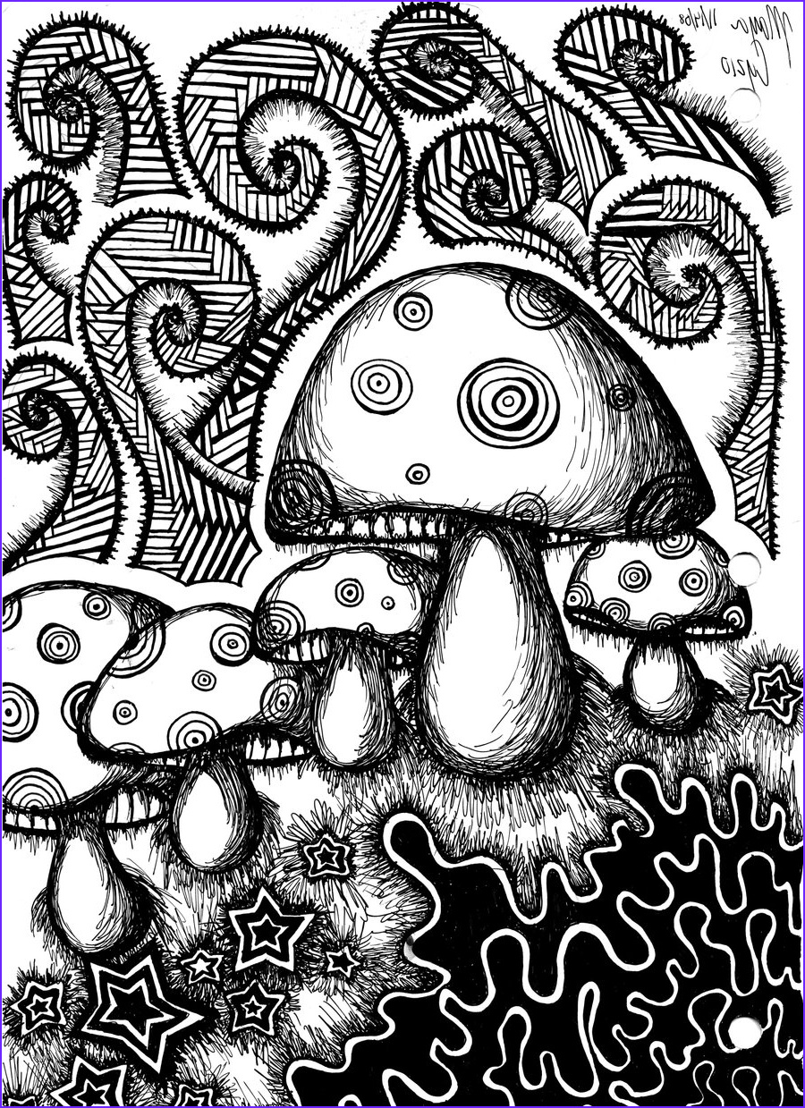 Printable Adult Coloring Book Unique Photos 50 Trippy Coloring Pages