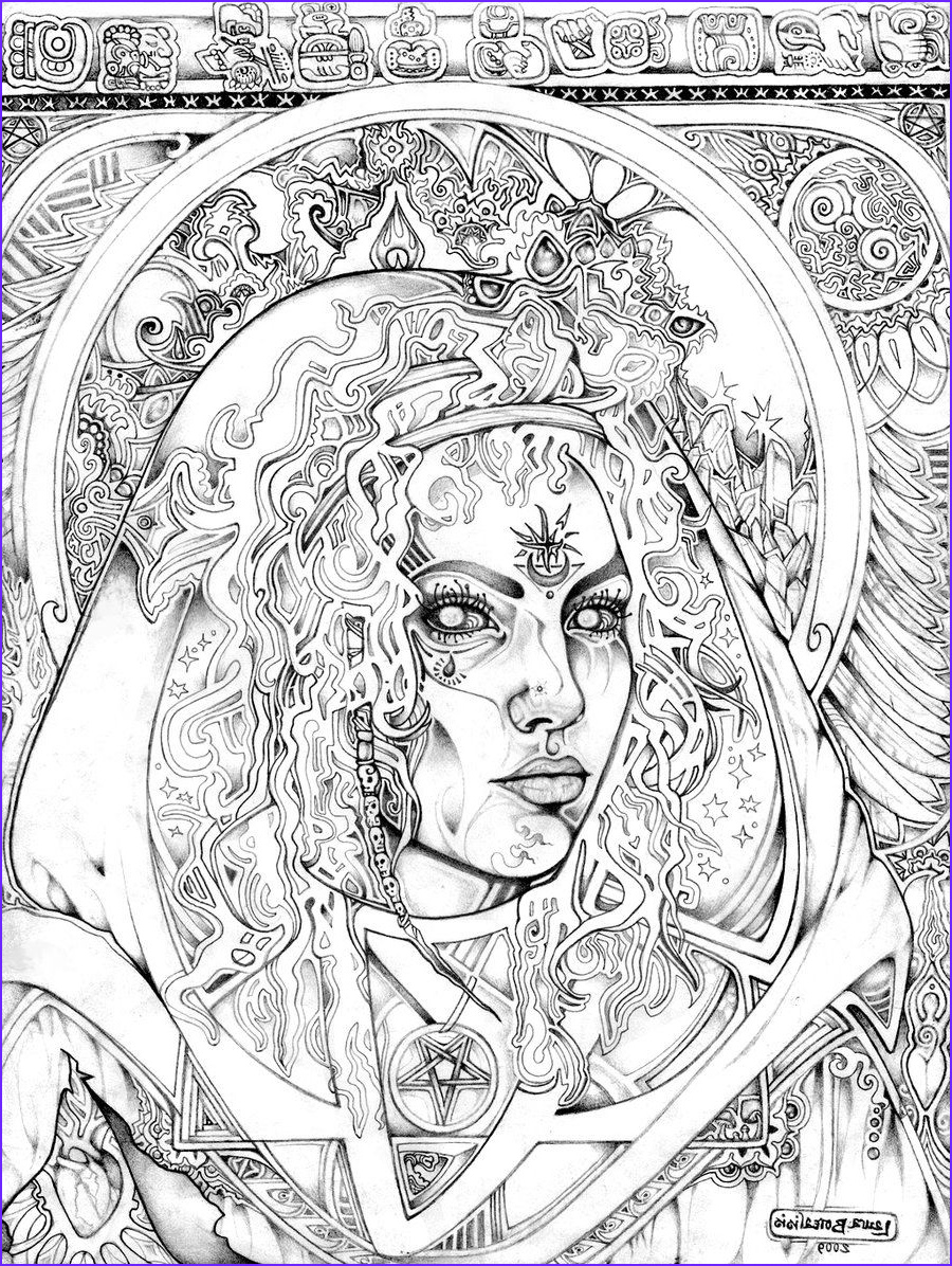 Printable Adult Coloring Books New Image Seer by Lauraborealisis Deviantart