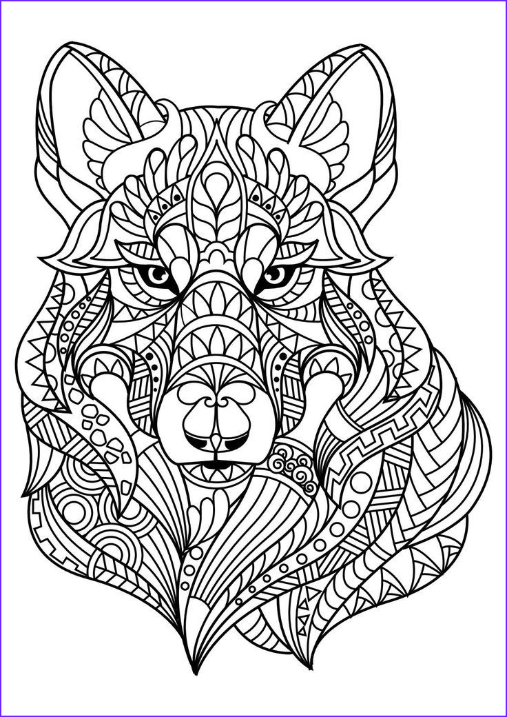Printable Animal Coloring Pages for Adults Awesome Photos Animal Coloring Pages Pdf