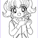 Printable Anime Coloring Pages Beautiful Photography 8 Anime Girl Coloring Pages Pdf Jpg Ai Illustrator