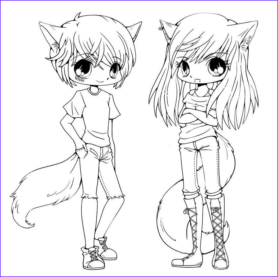 Printable Anime Coloring Pages Best Of Image Chibi Coloring Pages to and Print for Free