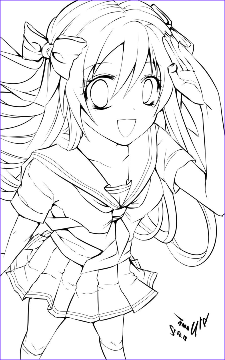 Printable Anime Coloring Pages Inspirational Stock Free Printable Anime Coloring Pages