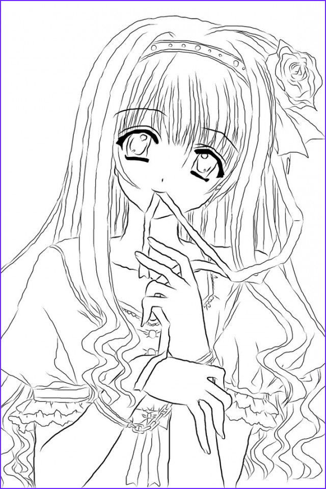 Printable Anime Coloring Pages New Collection Pin On Coloring