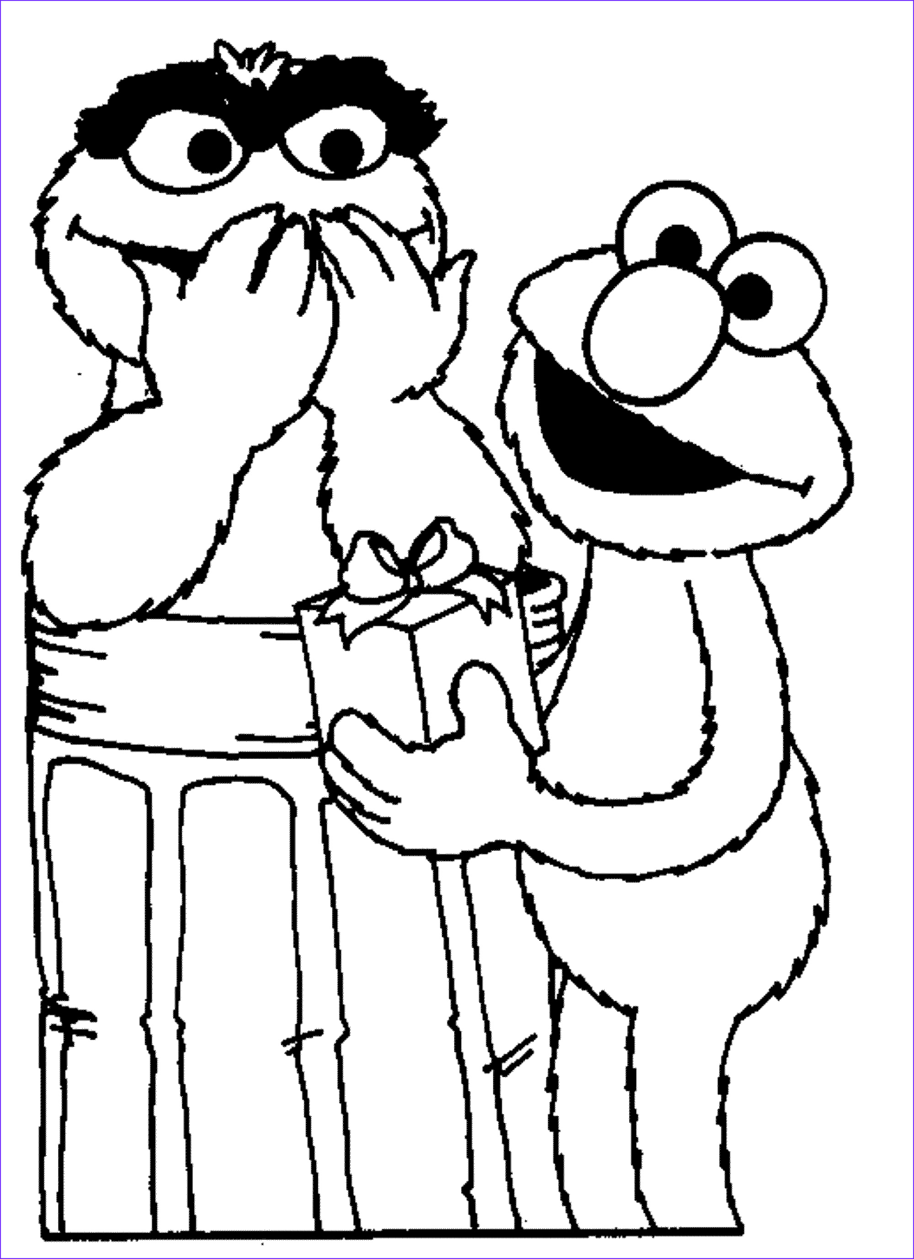 elmo coloring pages childrens home activity
