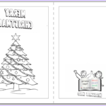 Printable Christmas Coloring Cards Best Of Image Christmas Card Coloring Pages Free Coloring Home