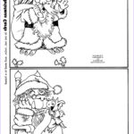 Printable Christmas Coloring Cards Elegant Photography Mostly Paper Dolls Too Christmas With The Little Monsters