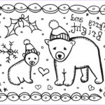 Printable Christmas Coloring Cards Luxury Photos Print And Color This Card To Give Marcia Beckett