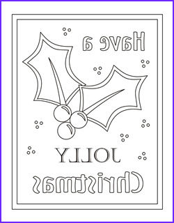 free coloring cards christmas