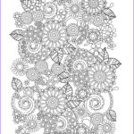 Printable Coloring Book Pages For Adults Inspirational Gallery Flower Coloring Pages For Adults Best Coloring Pages For