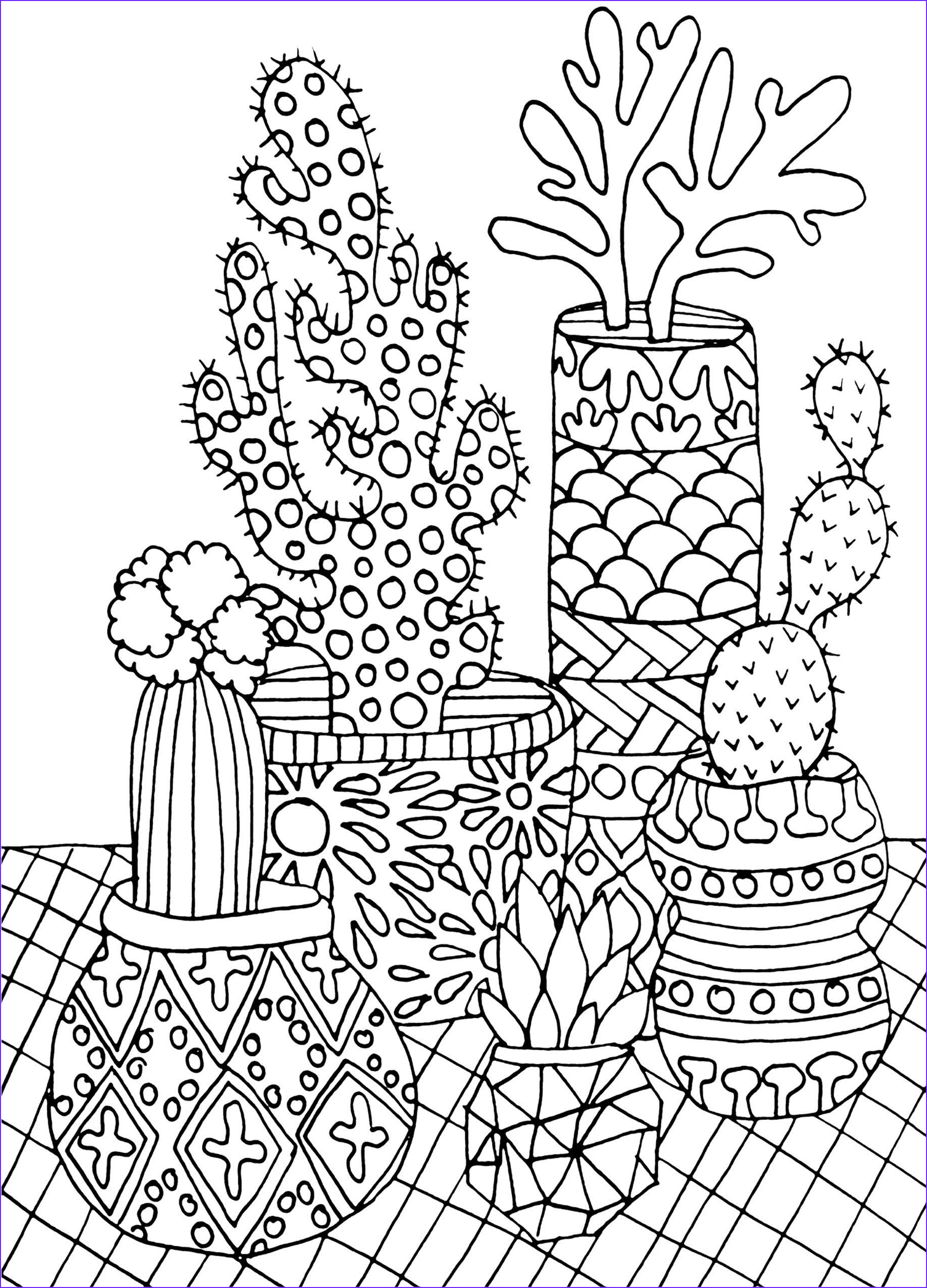 Printable Coloring Book Pages for Adults Luxury Stock Amazon Succulents Portable Adult Coloring Book 31