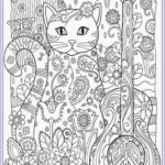 Printable Coloring Book Pages For Adults Unique Photos Pretty Cat Coloring Pages For Adult Printable