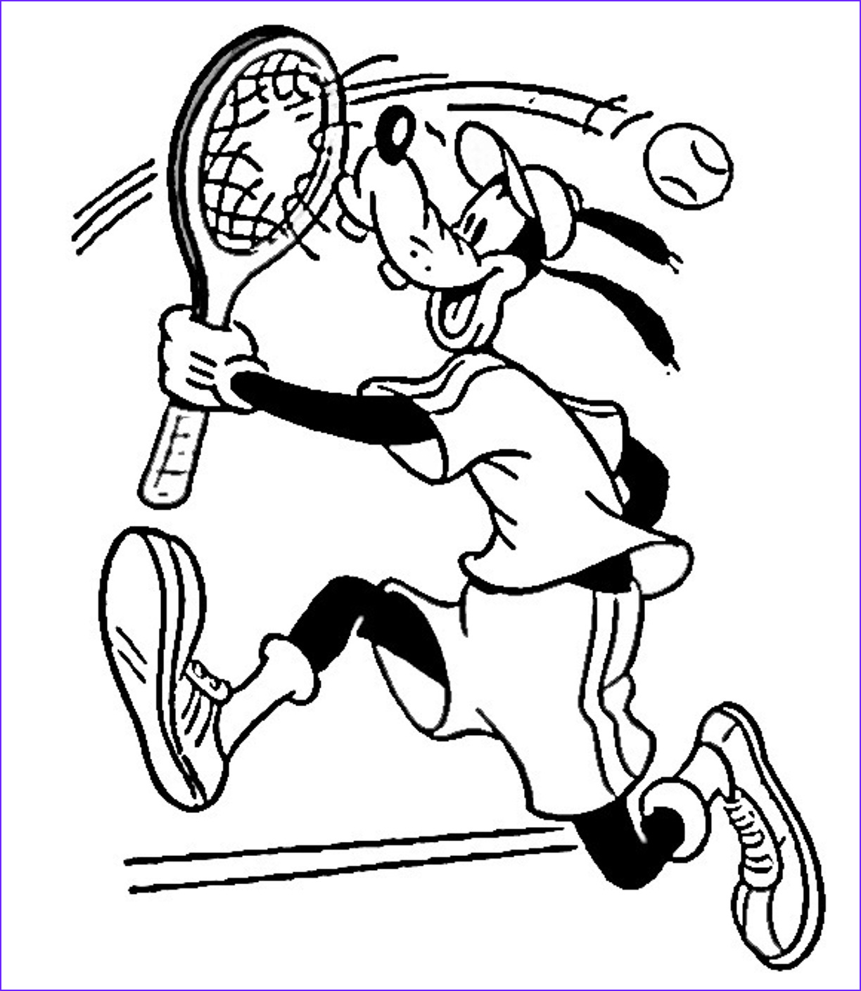 Printable Coloring Books Cool Photos Tennis Coloring Pages for Childrens Printable for Free