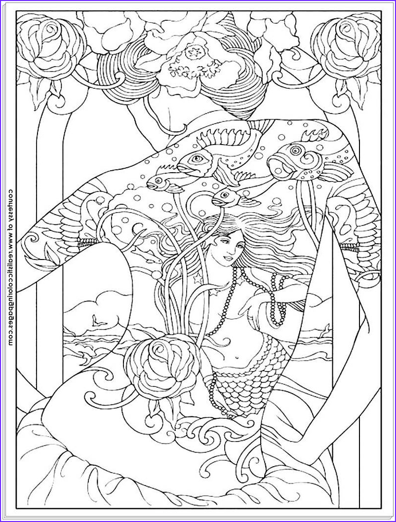 8 tattoo design adults coloring pages