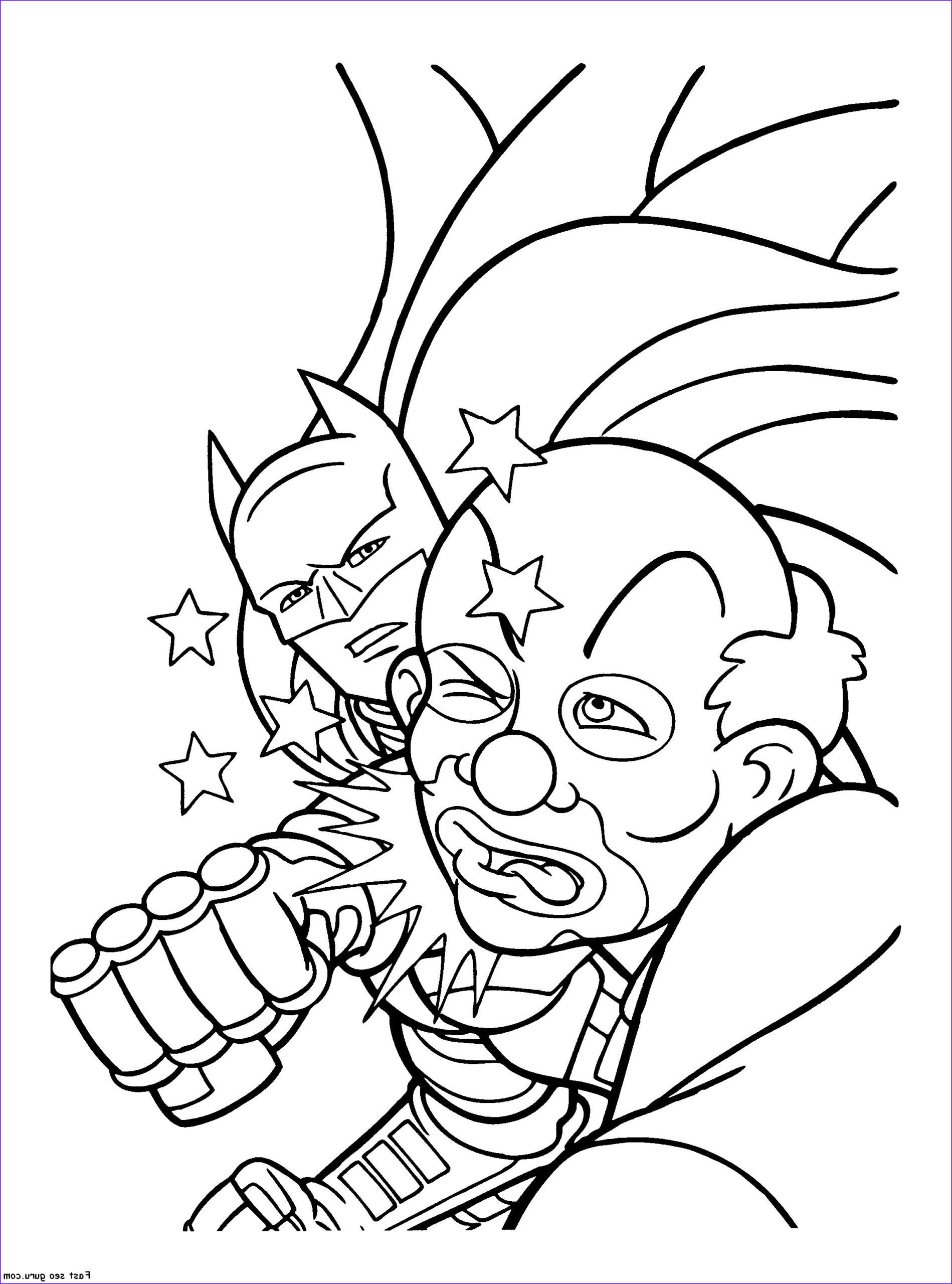 Printable Coloring Books Unique Image Joker Coloring Pages to and Print for Free