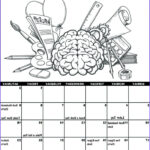 Printable Coloring Calendar 2017 Best Of Collection Calendars