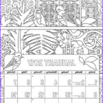 Printable Coloring Calendar 2017 Unique Image The Best Adult Coloring Calendars For 2017 Cleverpedia
