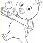 Printable Coloring Inspirational Collection Free Printable Backyardigans Coloring Pages For Kids