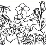 Printable Coloring Luxury Image Free Printable Flower Coloring Pages For Kids Best