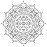Printable Coloring New Images Free Printable Geometric Coloring Pages For Kids