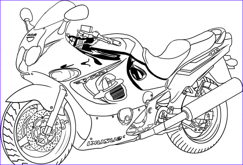 Printable Coloring Page Beautiful Photography Free Printable Motorcycle Coloring Pages for Kids